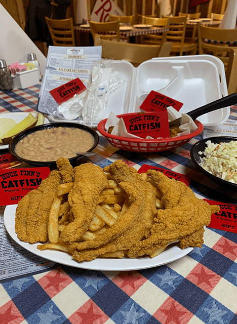 Huck Finn's Catfish | Catfish and Southern Cuisine in Pigeon Forge, TN | Gift Cards